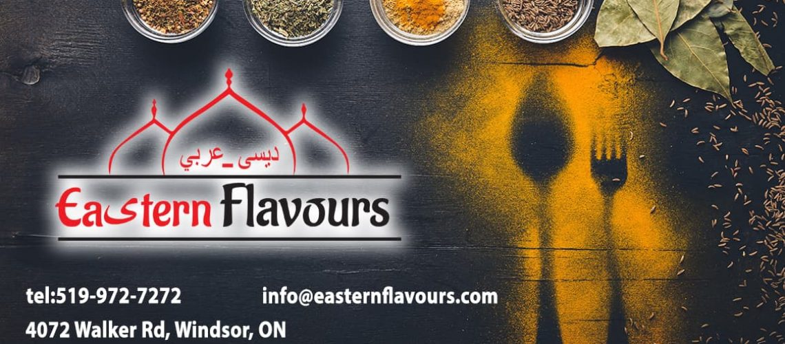 Eastern Flavours Business Card